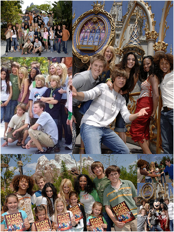 � Official-TheRealLife�  07/04/2006  ※  Zac et Vanessa au Disney Expedition Everst Ride Opening en Californie.  _