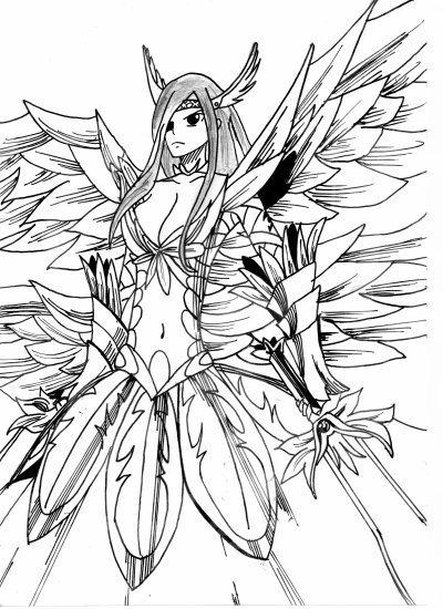 Dessin de ersa - Fairy tail a colorier ...
